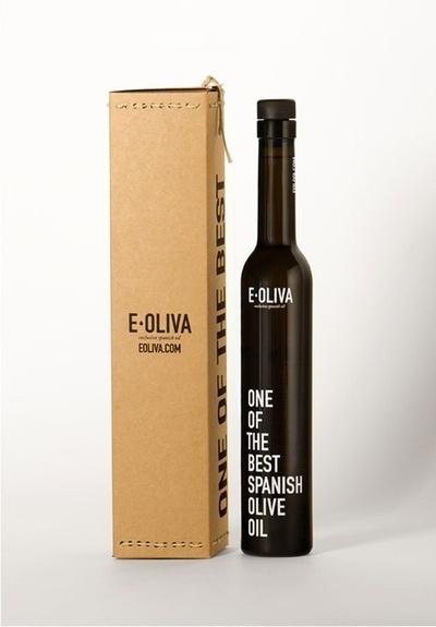 E-Oliva. Olive Oil Bottle from Spain.