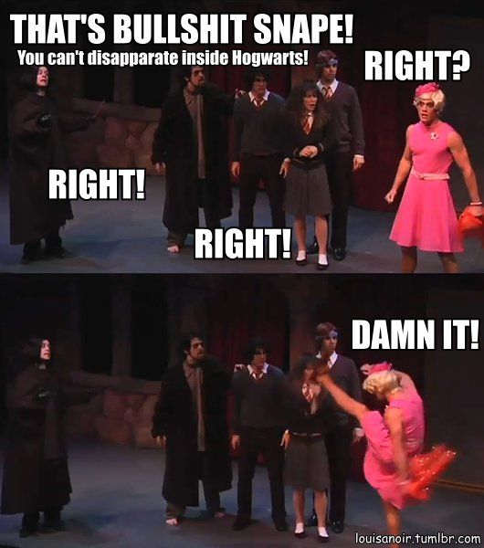 A Very Potter Sequel | Umbridge...I love Joe walker so much