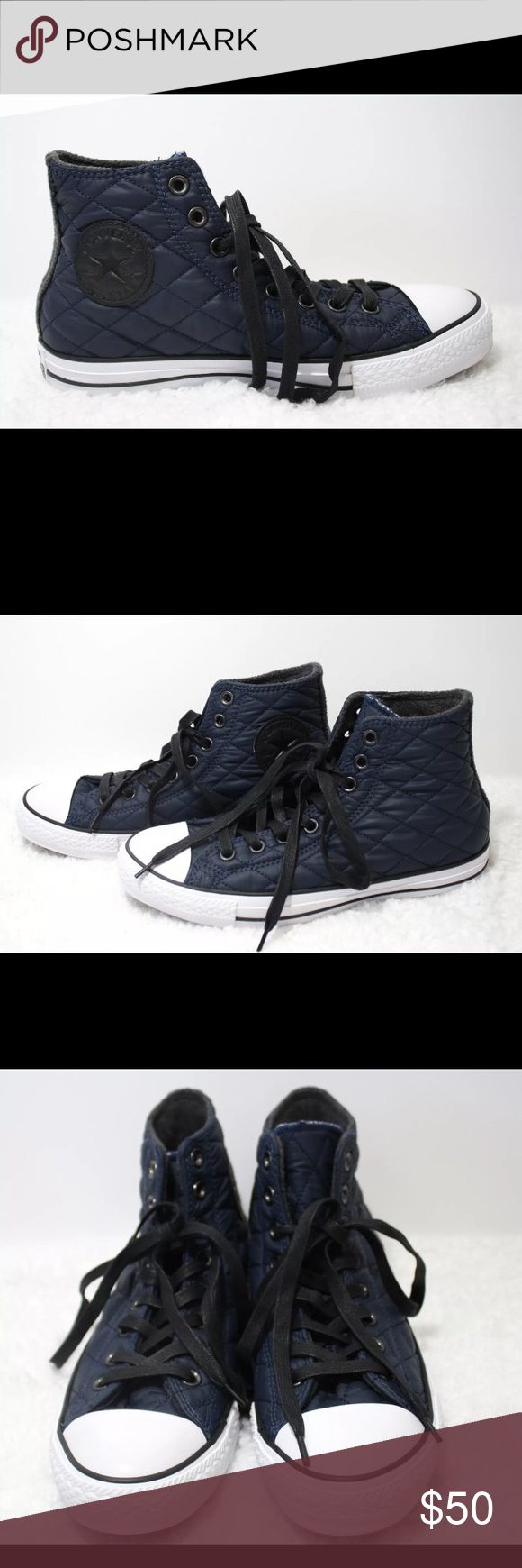 Converse Chuck Taylor All Star Quilted Navy Blue 9 Women's size 9