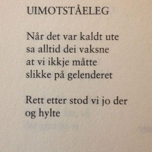 Barndomsminner... Av Marit Tusvik