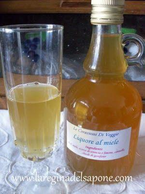 La Regina del Sapone: liquore al miele