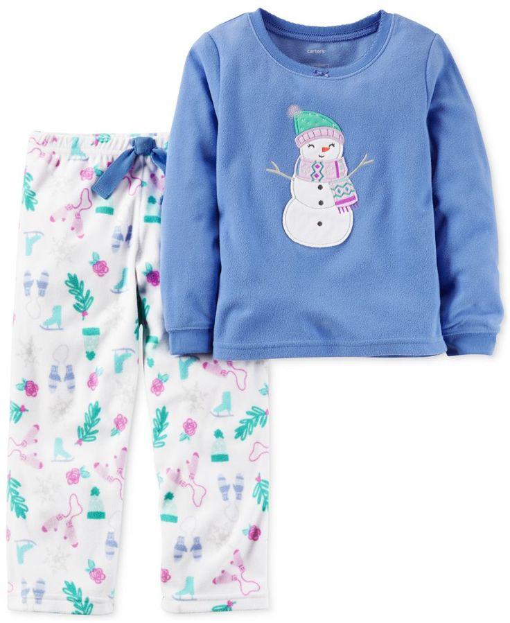 Carter's 2-Pc. Snowman Pajama Set, Little Girls (2-6X) & Big Girls (7-16)