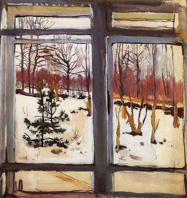 Window, 1910;Zinaida Serebriakova