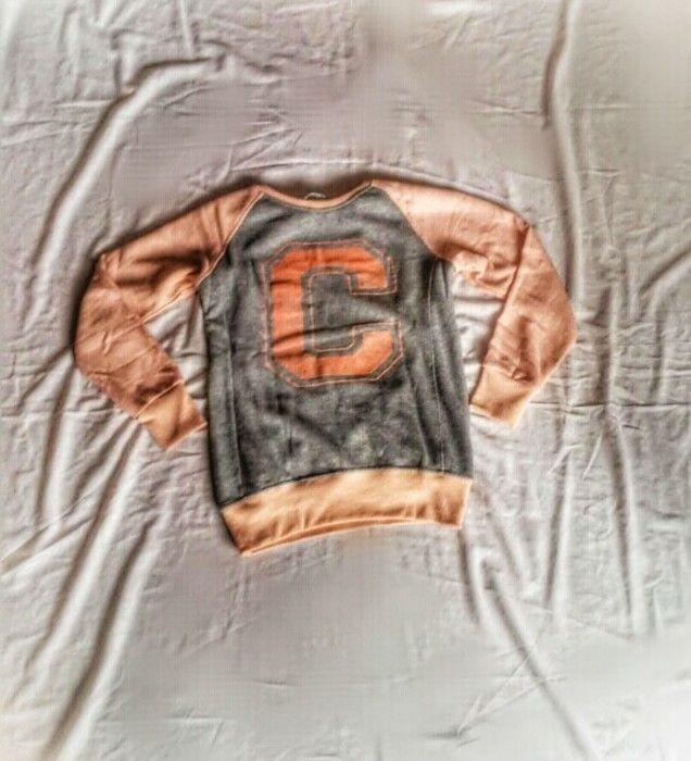 Bluza blogerska z litera dresowa