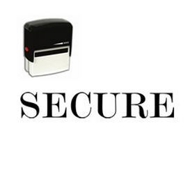 #Self-Inking #Secure #Stamp. Get the Self Inking Secure Rubber Stamp online from Acorn Sales. Easily mark secure documents with this easy to use stamp.