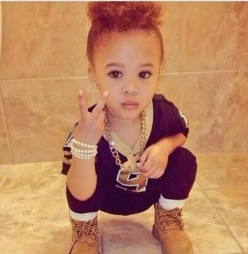 Baby Swag Girl: Nia Johns too cuteee(: