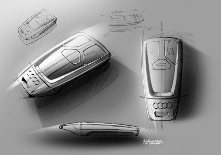 Industrial design sketching: 2015 Audi TT