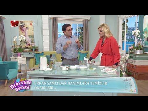 Ekolojik yaşam uzmanı Erkan Şamcı'dan hanımlara temizlik önerileri!