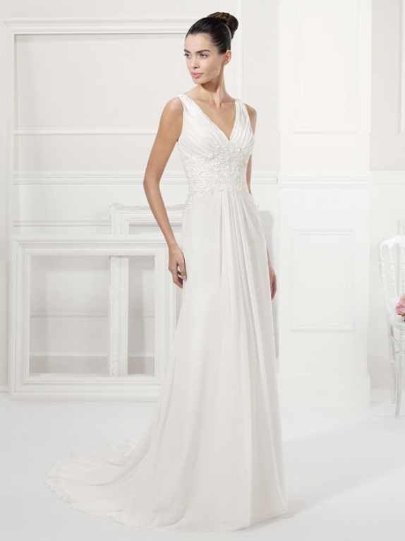 36 besten Hochzeitskleider Bilder auf Pinterest | Brautkleider ...