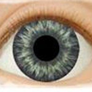 Real Brand Eyes-Medium Blue Gray