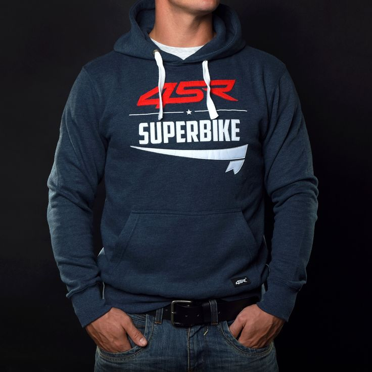 We love Superbikes, just like you guys! This hoodie is made from soft high quality material, designed for leisure time.