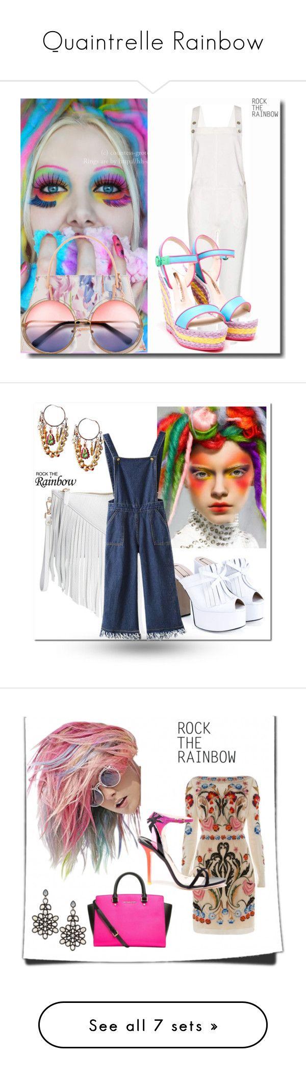 """Quaintrelle Rainbow"" by bibiantje-m on Polyvore featuring schoonheid en mode"
