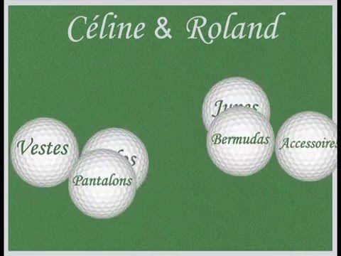 Zoom sur les ensembles Golf Céline & Roland