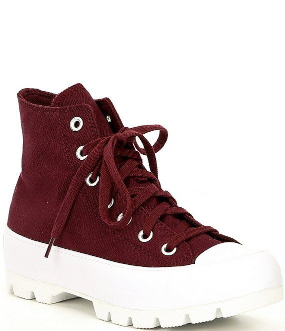 Sala adiós Perder  Converse Women's Chuck Taylor All Star Canvas High Top Lugged Platform  Sneakers | Dillard's | Womens converse, Chuck taylors, Chuck taylor all star