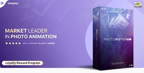 VideoHive  Photo Motion Pro  Professional 3D Photo Animator  Project for After Effects 22 November 17 Update Free Download
