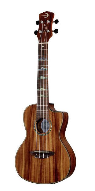 Luna Guitars Ukulele High Tide Koa Concert - Thomann Belgium