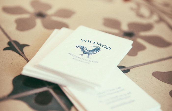 Wildkop - Businesskaartjes | by Skinn Branding Agency