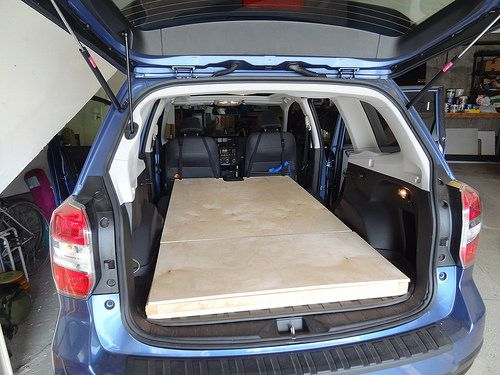 7 best suv sleeping systems images on pinterest subaru forester camping and car camper. Black Bedroom Furniture Sets. Home Design Ideas