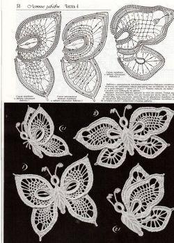crochet buterflies (25)