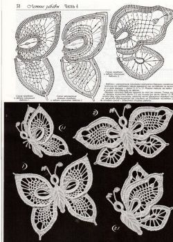 crochet buterflies (25)                                                                                                                                                                                 Plus