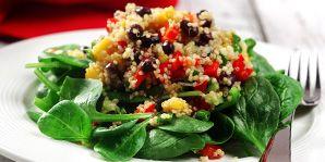 Quinoa, Black Bean & Mango Salad   Canadian Diabetes Association