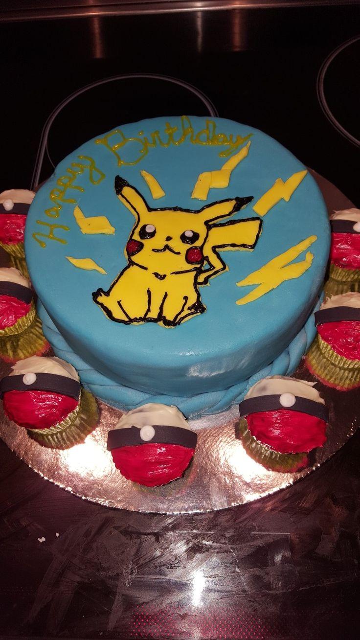 PIKACHU homemade cake