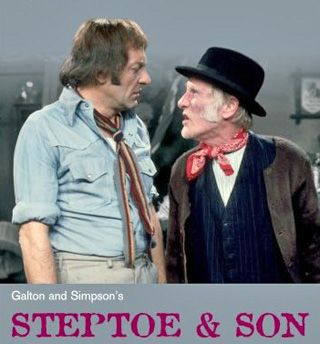 steptoe dating Steptoe and son is a british sitcom written by ray galton and alan simpson about a father-and-son rag-and-bone business they live at oil drum lane.