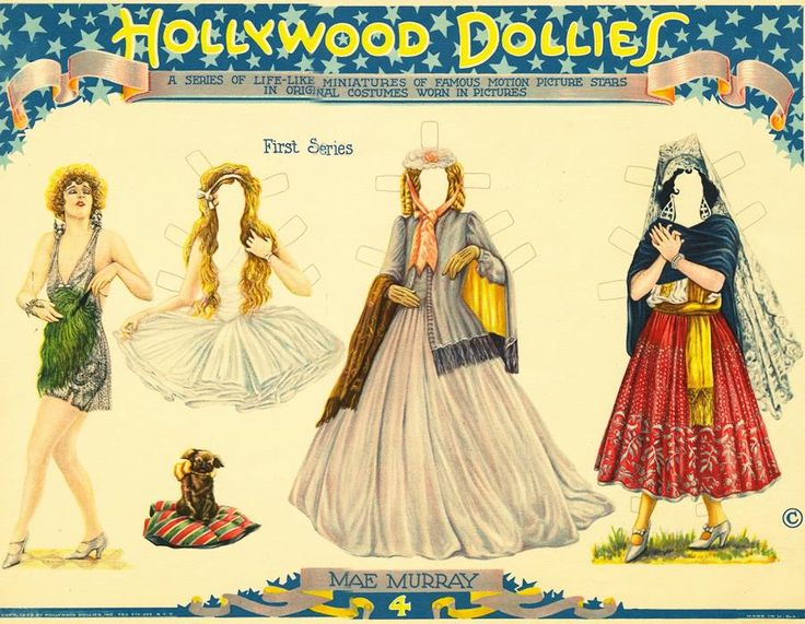 Original paper doll heaven celebrity