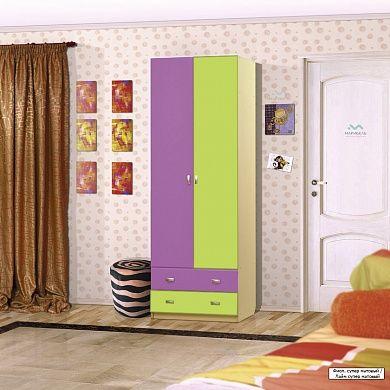 ДМ-1 Шкаф для платья и белья купить в Екатеринбурге | Мебелька