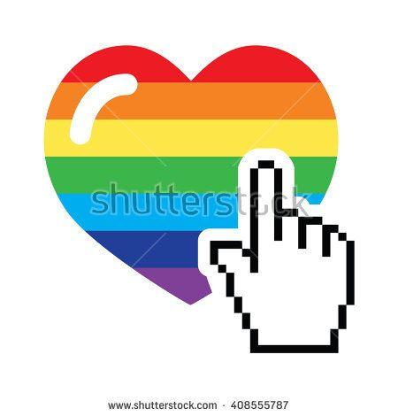 gay pride cursors