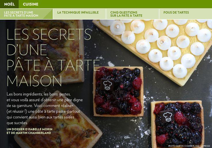 Les secrets d'une pâteàtarte maison - La Presse+