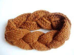 Anleitung: Geflochtenes Stirnband stricken für Ei…