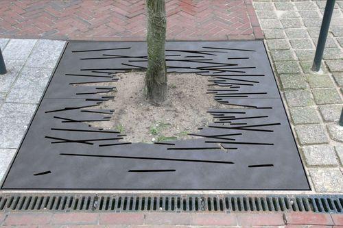 Tree grate SCRATCH Grijsen park straatdesign