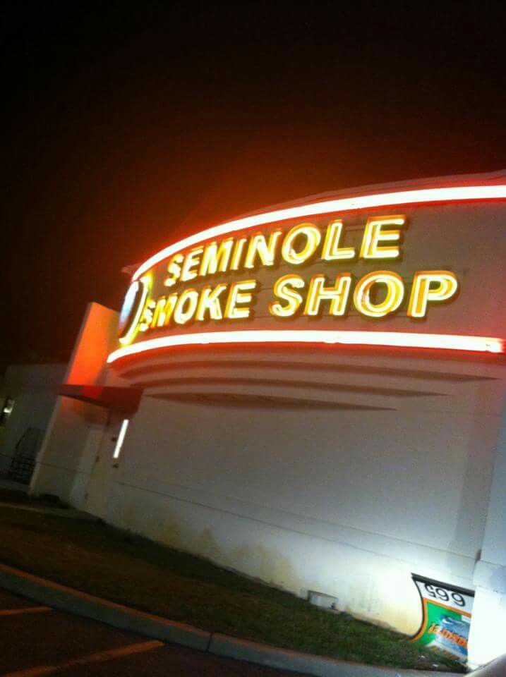 Seminole indian casino smoke shop gambling sports terms