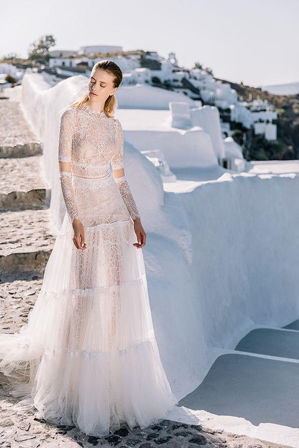 Beautiful Shoot In Santorini Vestido De Noiva Simples Vestido De Noiva Vestidos,Nice Long Dresses For Weddings
