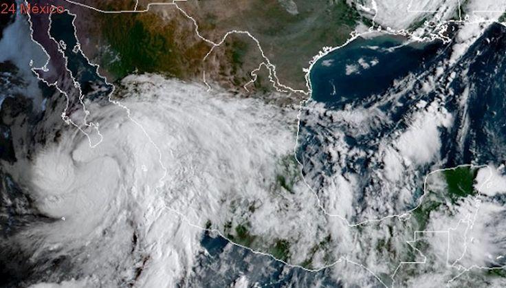 Alertan por lluvias torrenciales en todo el país debido a 3 meteoros