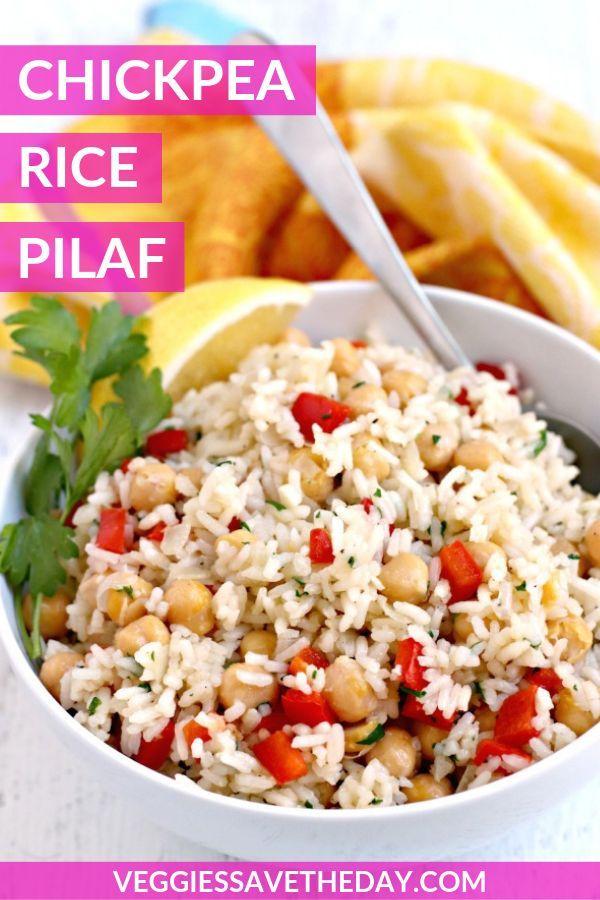 Chickpea Rice Pilaf Recipe