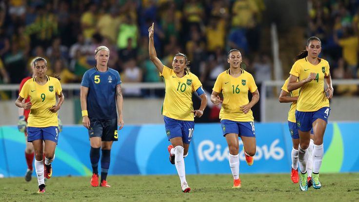 The United States and Brazil are among the nations into the quarterfinals of the women's soccer at the…