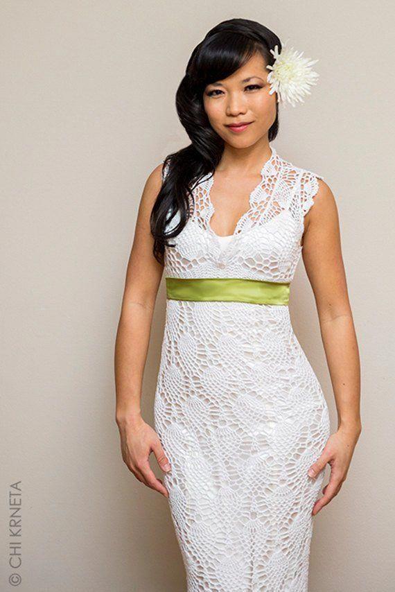 Crochet Lace Wedding Dress Pattern Crochetdressesbeautiful