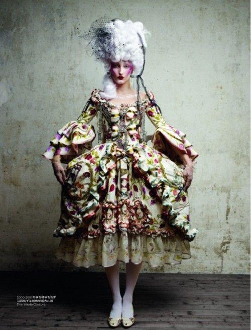 Patrick Demarchelier / Christian Dior / L'Officiel