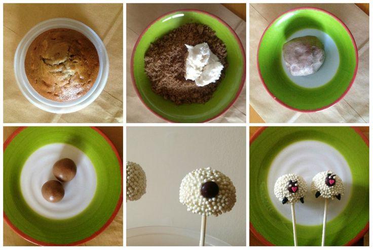 how to make cake pops com