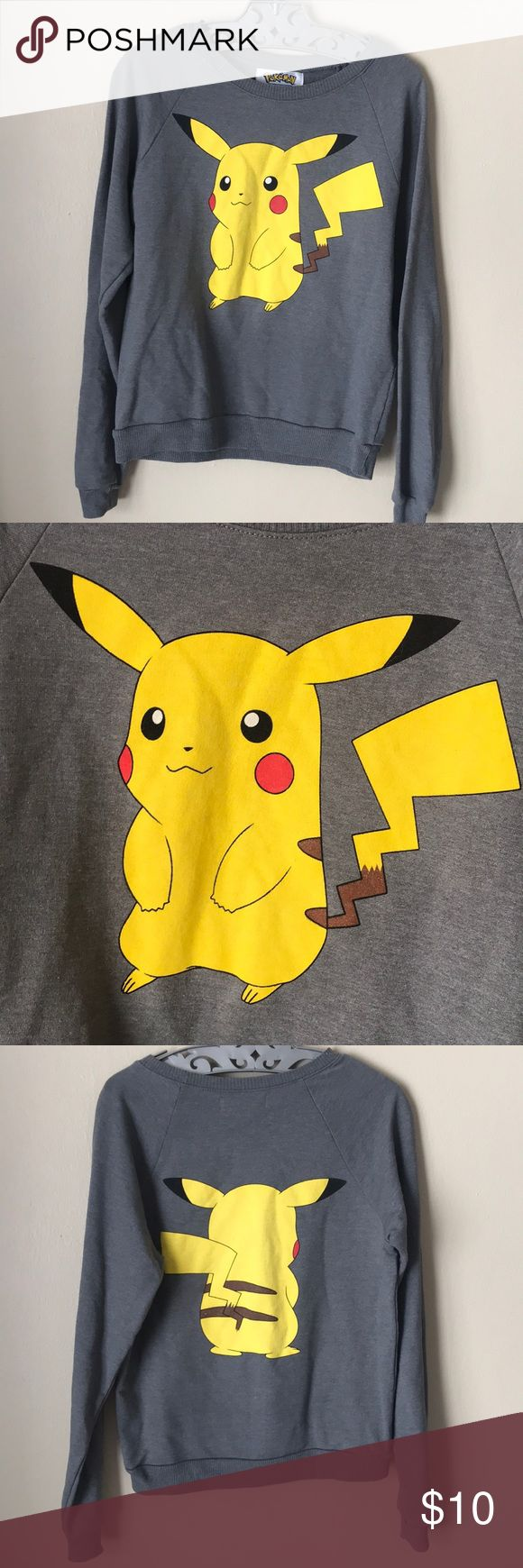 Pokémon Pikachu Sweater Excellent condition. Size small. Pokemon Sweaters Crew & Scoop Necks