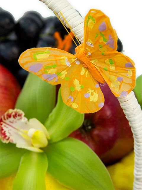 Цветы, фрукты и овощи