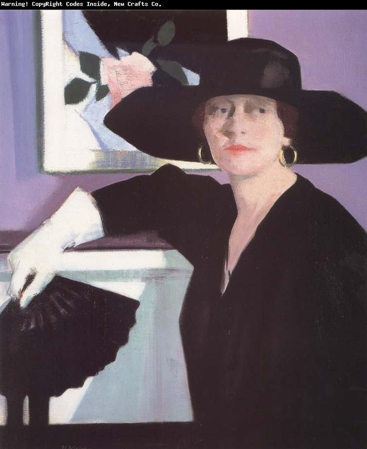francis campbell boileau cadell Well it's actually black and purple.