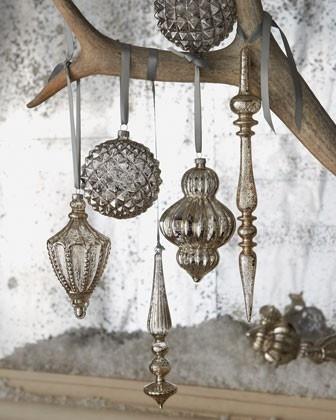 Mercury Ornaments: Krylon Mirror, Mercury Glasses, Glasses Ornaments, Glasses Sprays, Glasses Vintage, Mirror Glasses, Christmas Ornaments, Vintage Style, Old Cheap Ornaments