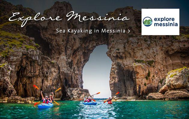 Explore Messinia. Sea Kayaking in Greece. #seakayaking #messinia #dreamingreece #sport #vacation #kayak #greece #peloponnese #travel #travelguide