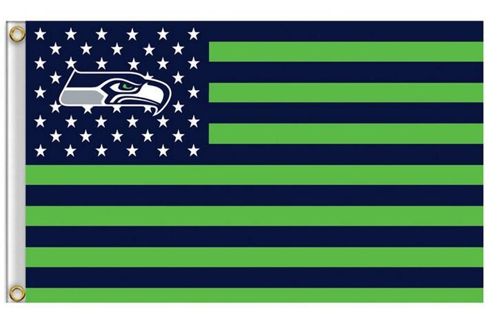 Seattle Seahawks Flag with Star and Stripe 3x5 FT Banner 100D Polyester NFL Flag Brass Grommets , free shipping♦️ SMS - F A S H I O N 💢👉🏿 http://www.sms.hr/products/seattle-seahawks-flag-with-star-and-stripe-3x5-ft-banner-100d-polyester-nfl-flag-brass-grommets-free-shipping/ US $6.49