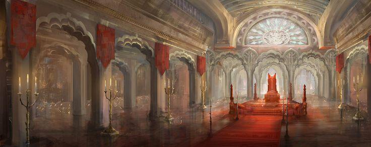 throne room by yefumm on deviantART