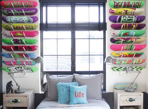 Great idea to teenage boys bedroom