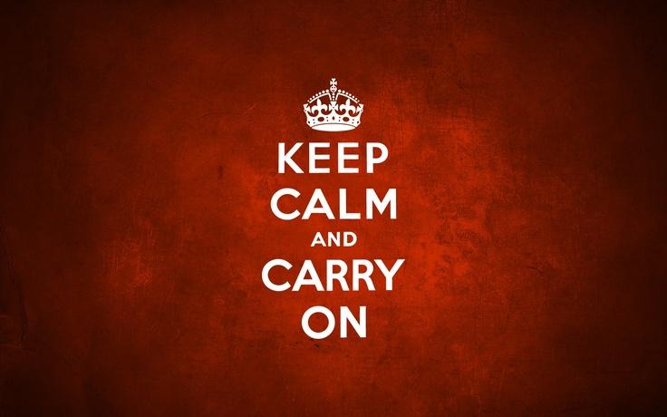 Desktop Wallpaper, Desktop Background, Keep Calm And Carry